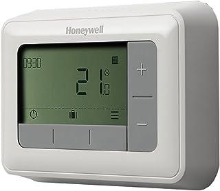 Honeywell T4H110A1021 T4 7 天可编程温控器,230 V,白色