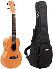 KAKA KUC-25D 23寸 单板尤克里里 小吉他(产品升级中,新老包装随机发货)