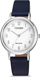 Citizen 西铁城 光动能 石英表 女士手表 日本品牌EM0571-16A腕表