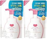 牛乳石鹸 无添加 泡沫洗面奶 替换装 2个一组(180mL×2个)