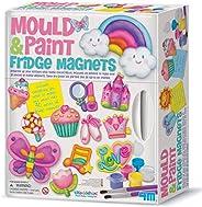 4M 石膏彩模系列 冰箱贴 创意美术手工DIY玩具 进口