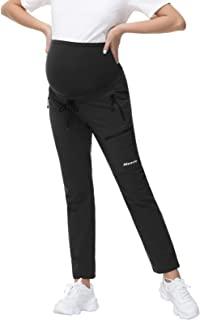 Maacie 孕妇运动裤带口袋高腰西裤
