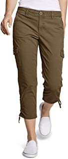 Eddie Bauer 女式 Adventurer 弹力防撕裂工装裤 - 略微曲线