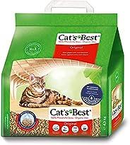 CAT'S BEST 德国猫倍思结团吸臭木猫砂10L(进口)(新旧包