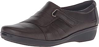 Clarks 女士 Everlay Luna 一脚蹬乐福鞋