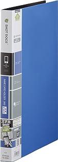 KING JIM 锦宫 名片夹 折叠式 A4 300名 蓝色 36SD 蓝色
