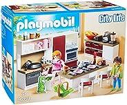 PLAYMOBIL 摩比世界 City Life 大型家庭厨房拼插玩具 9269,适合4岁以上儿童