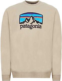 Patagonia 男式 M's Fitz Roy Horizons Uprisal Crew 运动衫