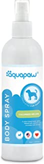 Aquapaw – 狗狗喷雾*剂香水 – 保持狗狗在洗后保持清新 – 持久、日常使用 – 温和、水基适合敏感肌肤 – 黄瓜香味,8 盎司瓶装