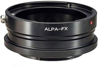 ALPA to FX 适配器兼容 ALPA 35 毫米单反相机镜头,适用于富士胶片 X-A1、X-A2、X-A3、X-A10、X-M1.X-E1、X-E2、X-T1、X-T2、X-T10、X-T20、X-Pro1、X-Pro2、X100F 相机