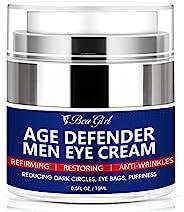 BeaGirl 男士眼霜咖啡因 - 眼部*紧致清爽保湿 - 减少皱纹、细纹、浮肿、黑眼圈、乌鸦脚和眼袋