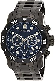 Invicta Men's Pro Diver 0076 Stainless Steel Chronograph W