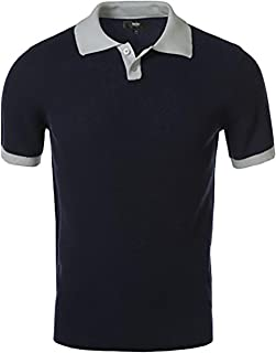 Mossimo 男士撞色领套头衫 Polo 衫
