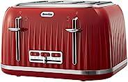 Breville 铂富 VTT783 Impressions 四片烤面包机 - Red