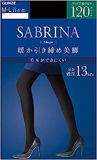GUNZE 连裤袜 Sabrina 塑身 保暖塑形美腿 120D SBW28 女款