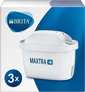 BRITA 碧然德 MAXTRA + 滤芯,与所有 BRITA 水壶兼容,可减少氯气和水垢,3 件装
