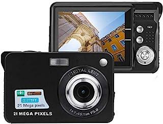 Acuvar 21 万像素数码相机 2.7 英寸 LCD 屏幕MF21  黑色