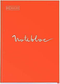 Michael lyus 活页纸 A4 方格 80张 Emotion 橙色 7133