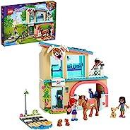 LEGO 乐高 41446 Friends Heartlake City Vet Clinic 动物救援玩具套装,含Mia、Savannah 和 Donna,马玩具和导盲犬