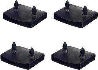 NANSHINE 20 件 55.5-57 毫米替换床板支架套件捆绑塑料中心盖支架