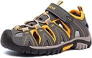 GUBARUN 男童女童运动水凉鞋包头户外鞋