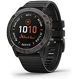 Garmin 佳明 fenix 6X Pro Solar 高级多运动GPS手表,具有太阳能充电,贴图,音乐,坡度调节的步…