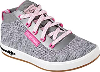 Skechers Girls' Shoutouts Sparkle Knitz 高帮鞋