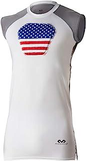 McDavid 迈克达威 HEX 护胸,护心胸垫衬衣,适用于棒球、足球、长曲棍球和守门员,青年和成人尺码