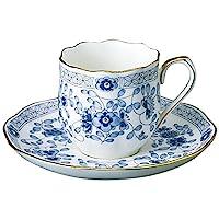 NARUMI 鳴海 Milano系列 咖啡杯 & 碟子 130cc(約130ml)特濃咖啡杯 9682-6777 日本制造