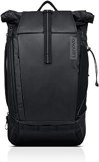 Lenovo 联想 15.6 英寸笔记本手提箱(背包) 黑色 - 耐候 - 420D 防撕裂外层,热塑性弹性体(TPE) - 肩带 - 18.9 英寸高 x 11.8 英寸宽 x 7.5 英寸