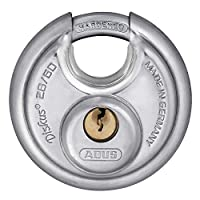 ABUS 28/60 Diskus 硬化鋼掛鎖鑰匙
