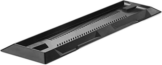 TNP PS4 超薄版支架 - 垂直底座支架稳定底座,适用于索尼 Playstation 4 控制台游戏配件节省空间黑色 [Playstation 4]