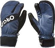 Oakley Factory Winter 2 男式雪地摩托手套 2X-Large 蓝色 94263-609-XXL