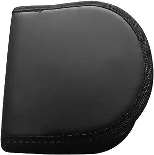 尼龙拉链 CD/DVD 钱包/收纳箱,便携式12 CD/DVD 光盘存储箱包,CD/DVD 钱包适用于汽车、家庭、办公室和旅行,尼龙 CD/DVD 钱包 - 可容纳 12 张光盘。