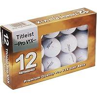 Titleist Pro V1x 薄荷绿官方高尔夫球,12 只装运动、锻炼、运动、健身