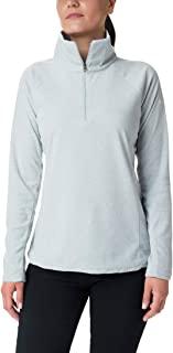 Columbia 女士 Glacial IV 印花 1/2 拉链套头衫,经典款