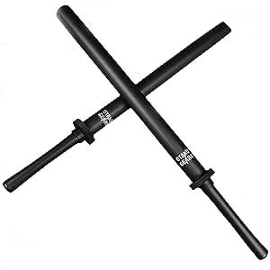 Otaku Gear 35 英寸(约 88.9 厘米)黑色填充泡沫北京武士剑套装,用于练习、拳击、角色扮演或特别活动道具