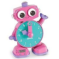 Learning Resources Tock 学习时钟玩具, 粉色