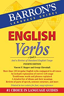 English Verbs: And a Review of Standard English Usage (Barron's Verb) (English Edition)
