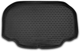 Element EXP.NLC.34.12.B1R 量身定制贴合橡胶靴衬垫保护垫-梅赛德斯SL-Class R230,Roadster 2008,黑色