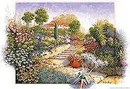 500ピース 花の園 (38x53cm)