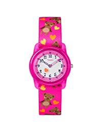 Timex Girls Time MachinesTW7C16600  Analog 尼龍 粉色 TW7C166009J watches