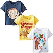 Curious George 男童T恤3件装