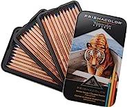 Prismacolor 三福霹雳马 36色水溶彩铅套装 彩色铅笔 干湿两用 原木笔杆 硬质芯材