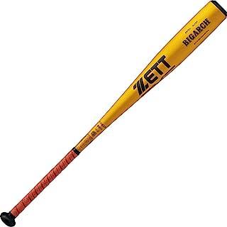 ZETT 硬式棒球 中学生用 BIGARCH 超硬铝制 84厘米 平均820克 黄金(5301) 日本制造 BAT21084