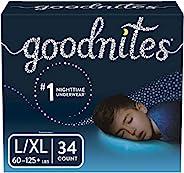 Goodnites 男童睡褲 Large/Extra Large 34