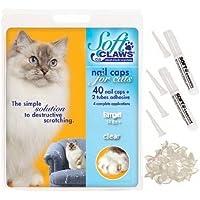 Soft Claws CLS 猫咪*帽,毛线带回家套装,透明,小号 6-8 磅