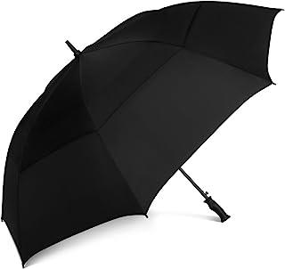 ShedRain® Windjammer 通风自动开高尔夫伞:黑色