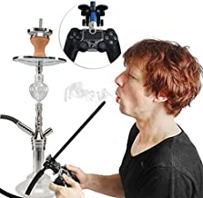 FLAHA 水烟软管支架 水烟手柄支架 适用于 PS4 Slim Pro 游戏控制器 Chicha,180 度游戏支架