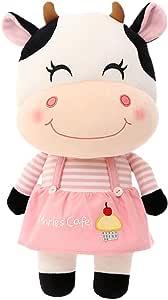 BESTOYARD 2021 牛装饰幸运牛雕像毛绒玩具 Ox 玩偶玩具 2021 中国十二生肖 Ox 装饰新年汽车星座礼物家居